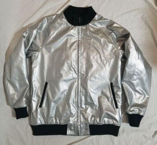 Silver Xl Giacca Streetwear Durkl da Zip donna rIAxqnpwI
