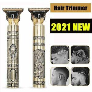 2021 Usb T9 Hair Clipper Professional Electric Trimmer Barber Shave For Men Gift Ebay