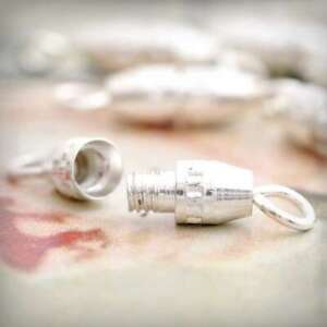40pcs-Barrel-Clasp-Connectors-Bracelet-Necklace-Craft-Jewelry-Findings-17x4x4mmA