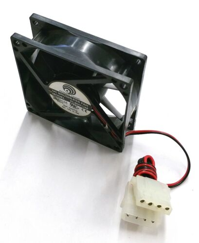 NEW Power Logic PL80D12M 80mm x 25mm 12V DC Brushless Cooling Fan w//PC Connector