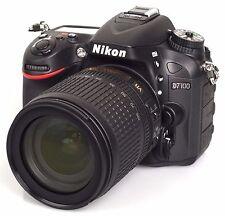 NIKON  D7100 + LENTE 18-105 VR--PRECIO NEGOCIABLE