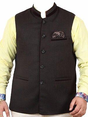 Indian Designer Traditional Partywear Modi Nehru Koti Kurta Jacket Waist Coat