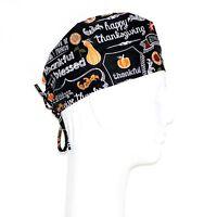 Thanksgiving Theme Scrub Hat