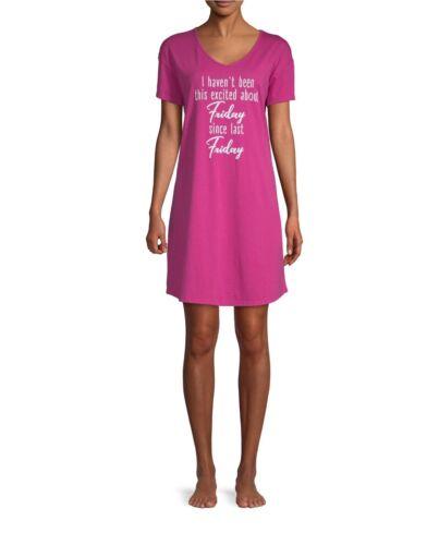 SECRET TREASURES WOMEN/'S Friday Sleep Shirt Size 2X//3X New 20W-24W