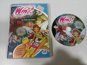 WINX-CLUB-LA-CRIPTA-DEL-CODICE-SECONDA-STAGIONE-DVD-ENGLISH-ITALIANO-REGION-2