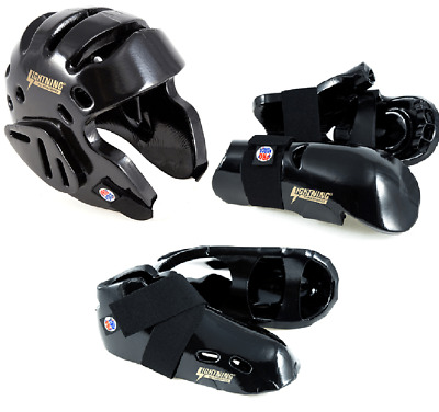 Black karate sparring helmet by Century Size Child//Small