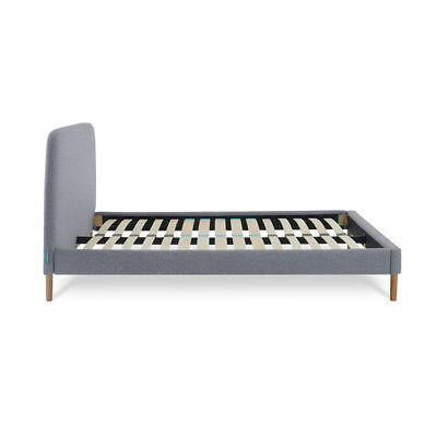 Simba Slatted Bed Base with Headboard | Slatted Base
