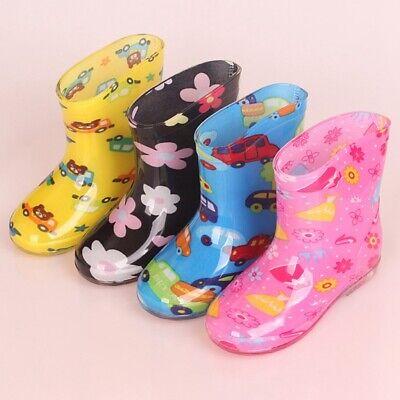 Waterproof Child Sandals Rubber Infant Baby Rain Boots Kids Boy Girls Rain Shoes