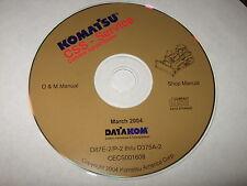 KOMATSU D87E-2P/2 TO D375A-2 DOZER BULLDOZER SERVICE REPAIR MAINTENANCE MANUAL