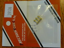 Precision Scale HO #39136 Light, Saturn Safety, w/Clear Lens (Brass / Plastic)