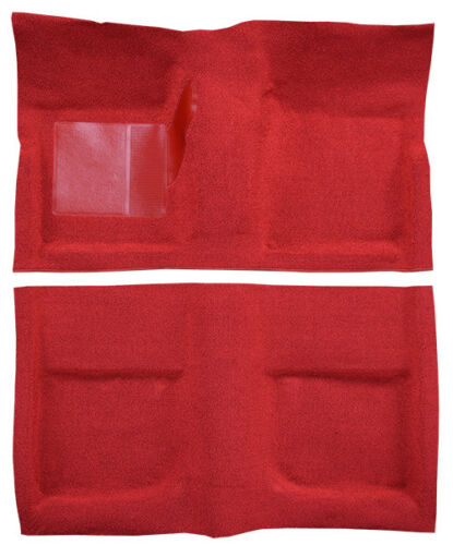 Mustang Carpet BRIGHT RED 1965 1966 1967 1968 65 66 67 68 Fastback ACC 80//20 MIX