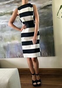 LANVIN-1-647-Runway-2013-Graphic-Striped-Sheath-Dress-Fr-36-XS-UK-6