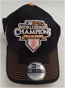 NWT-2010-San-Francisco-Giants-World-Series-Champions-Hat-One-Size-New-Era