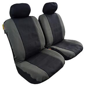 HOLDEN COLORADO FRONT PAIR OF PREMIUM WATERPROOF NEOPRENE CAR SEAT COVERS