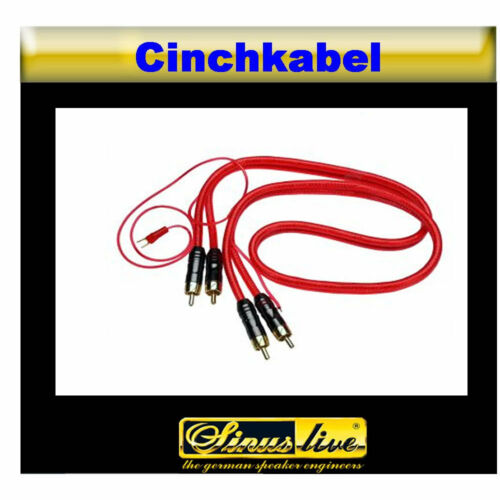 = etapa 80cm 3 veces blindado cinch cable /& Remote