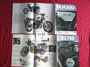 N°4395 G / Yamaha Xs 750 Dépliant En Francais 6277rxko-07221414-586875563