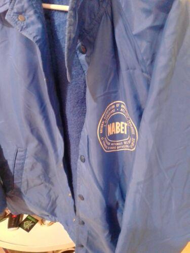 Vtg NABET JACKET BROADCASTING RARE CHAMPION 70S 80