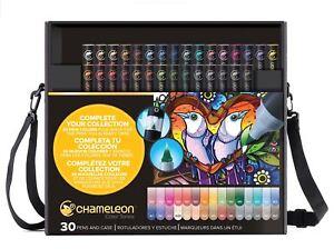 Chameleon-tonos-de-color-Pen-Set-alcohol-mezcla-Gradiente-30-Pluma-Deluxe-Set