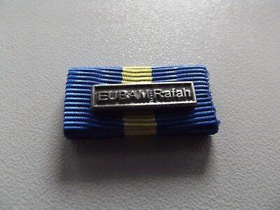 Einsatz v. Lybien EUK-8 WEU EU Einsatzmedaille SOPHIA Bandspange