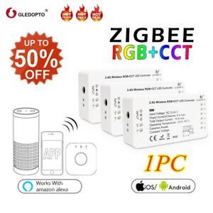 GLEDOPTO-RGB-CCT-RGBW-Zigbee-Smart-LED-Strip-Voice-Controller-For-Amazon-Echo-ID
