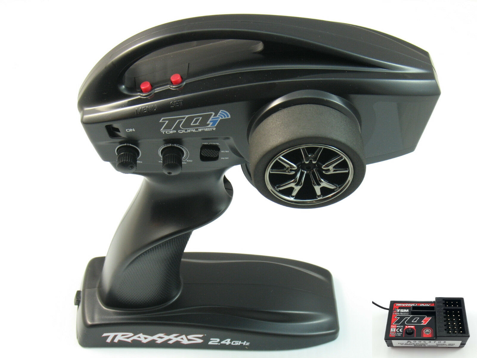 NEW BRUSHLESS E-REVO TQI RADIO 6533 TSM RECEIVER TRAXXAS LINK WIRELESS azulTOOTH