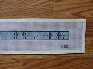 Connecticut State Dog Collar Needlepoint Canvas