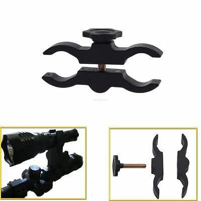 Hunting Mount Holder for Flashlight Torch Telescope Sight scopes Lasers Lights
