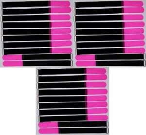 30x Kabelklett Klettband 300 x 25 mm neon gelb Öse Klett Kabelbinder Klettbänder