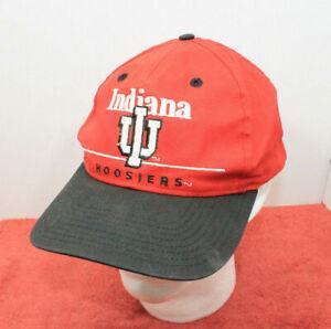 Indiana University Hoosiers VTG 90s Snapback Collegiate Licensed Hat USED
