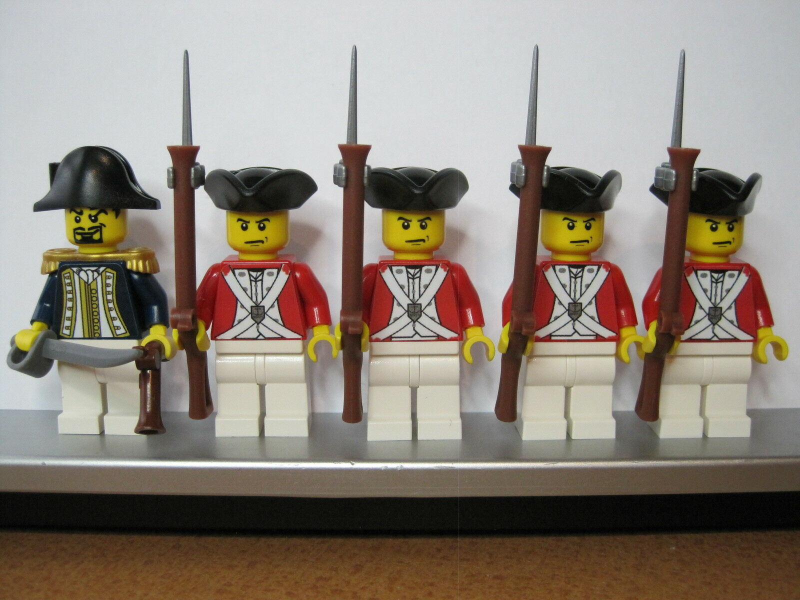 Lego PIRATE of the Caribbean POTC BRITISH Imperial Imperial Imperial Infantry Soldiers MINIFIGS 0b302e