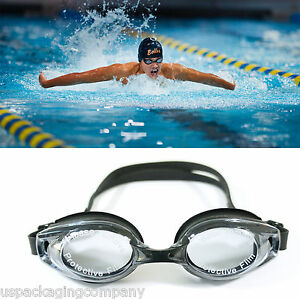 Black-UV-Protection-Anti-Fog-Swimming-Swim-Goggle-Glasses-Adjustable-Competition