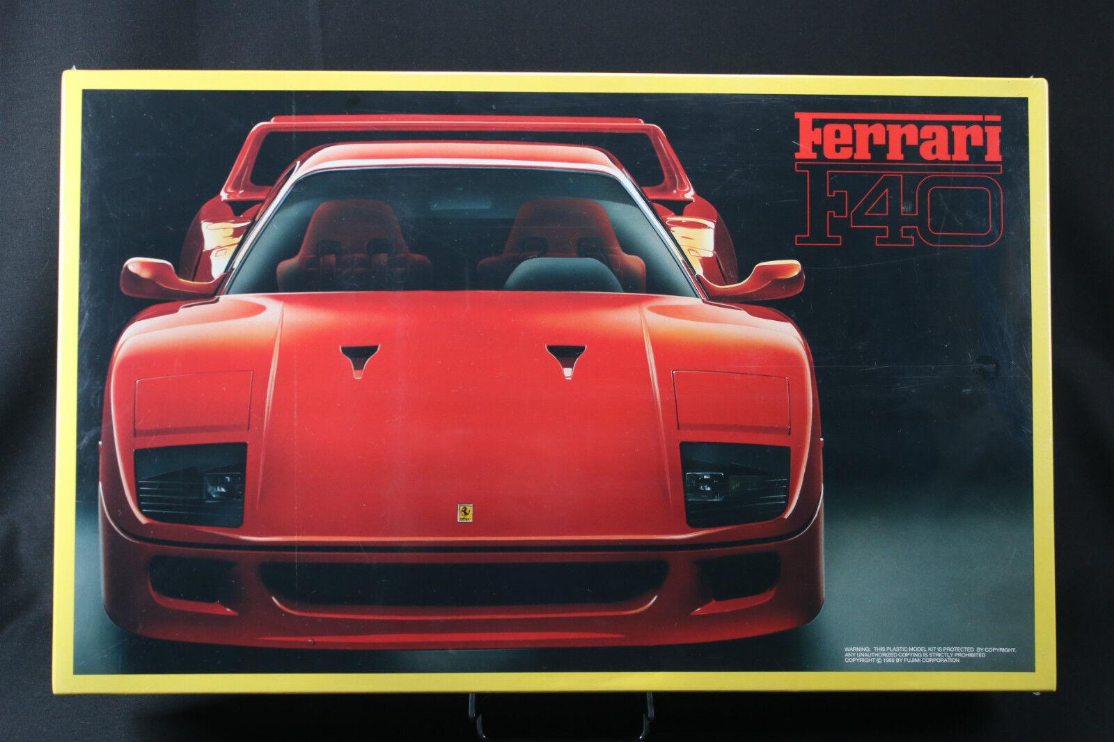 YJ007 Fujimi 1 16 Model Car 10110-RC110-4800 Ferrari F40 10110 1988 EM110