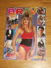 BRAVO magazine 22 1987 Mandy on cover Madonna poster A-ha Duran Duran Sandra