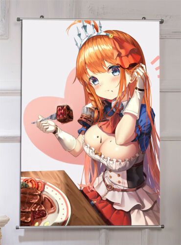 Anime Princess Connect Poster Home Wall Decor Scroll Roll Art Gift 60x90cm