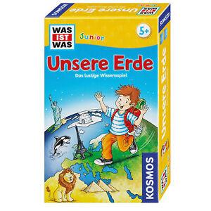 KOSMOS Kinderspiele Was Ist Was Junior Unsere Erde Geografie Spiel ab 5 J 711290