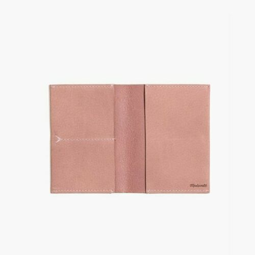 NWT Madewell The Passport Case in Nubuck Leather 100/% Leather