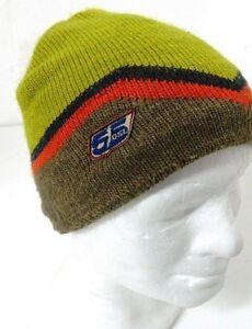 Caricamento dell immagine in corso Cappello-55-DSL-lana-Verde-e-marrone- snowboard- 0ba55bf0976f