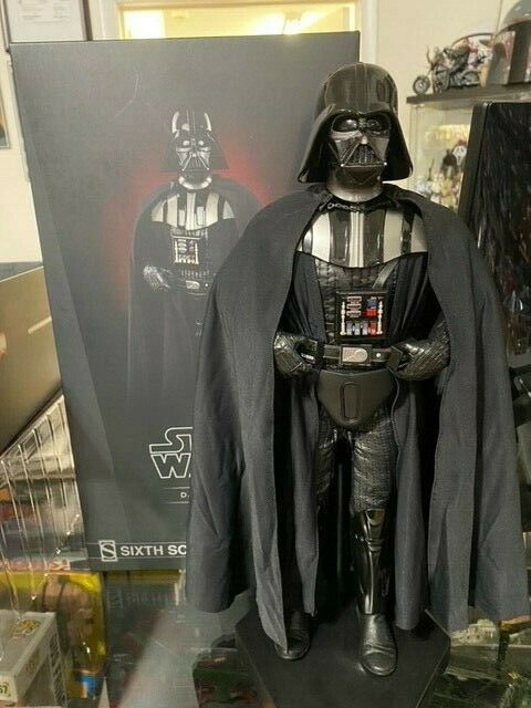 Darth Vader ROTJ Sideshow Collectibles 1/6 Scale Figure 1000763 on eBay thumbnail