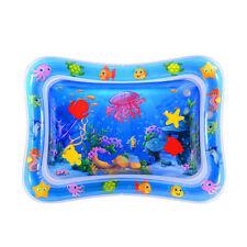 Baby Wasserkissen Spielmatte Aufblasbare Früherzieh Spielzeug 66 x 50 cm Blau DE