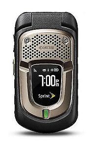 kyocera duraxt black sprint cellular phone ebay rh ebay com Kyocera Duramax Memory Card Kyocera Duramax E4277 Manual Model Number