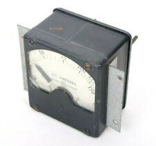Vintage General Electric Ac Amperes Meter 0 150 Type Ad 6 Model 8ad6abz56