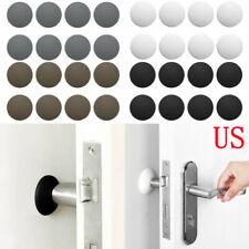 Wall Door Stopper Kitchen Yeebline 6 Pack Silicone Door Stopper Wall Protectors Self Adhesive Door Handle Bumper Guard Stopper for Door Knob Office