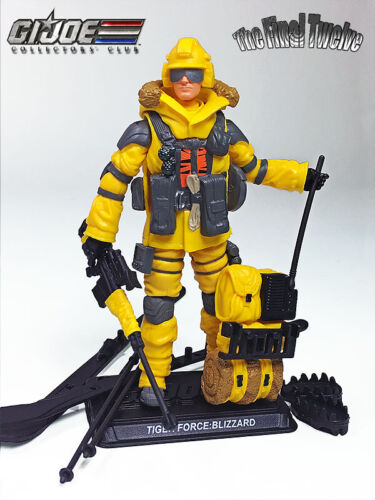 GIJOE 25TH 30TH 50TH CLUB EXCLUSIVE 2019 TIGER FORCE BLIZZARD V3 MOC
