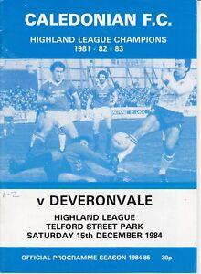 Inverness-Caledonian-programmes-1981-1994