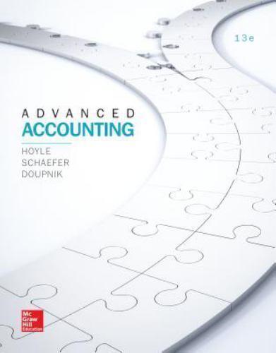 Advanced Accounting by Timothy Doupnik, Joe Ben Hoyle and Thomas ...