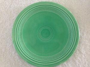 RARE-Vintage-1930-039-s-Fiesta-Homer-Laughlin-Green-7-034-Salad-Lunch-Plate