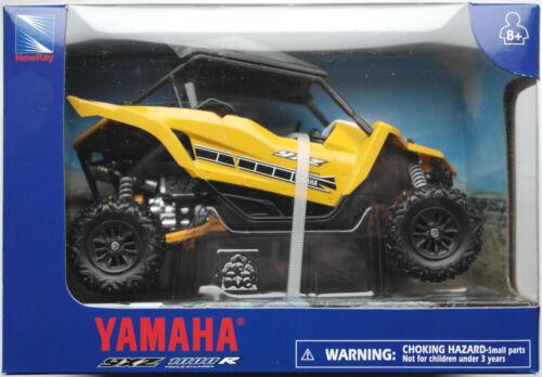 NewRay Yamaha YXZ 1000R ATV Side-By-Side Quad gelb 1:18 Neu//OVP Offroad Allrad