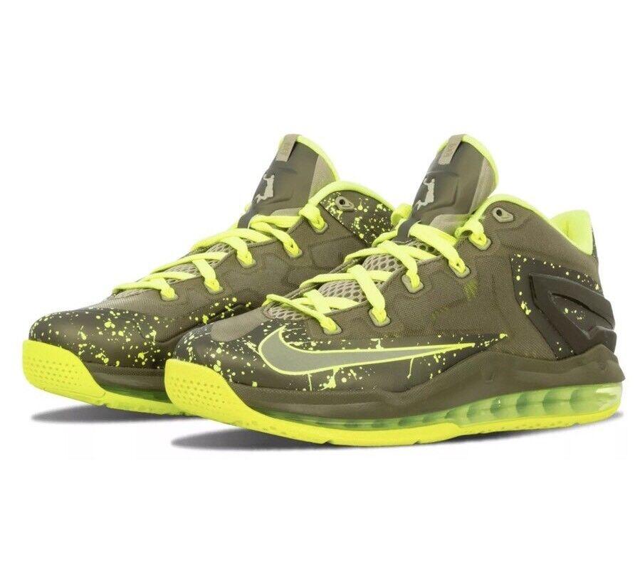 Nike lebron xi max 642849-200 niedrig volt volt volt grne james 23 dunkman south beach 9,5 09f7cd