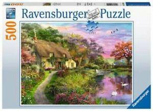 500-Pieces-de-Puzzle-Amour-Pays-Ravensburger-15041-Kunstpuzzle-a-Partir-10-Ans