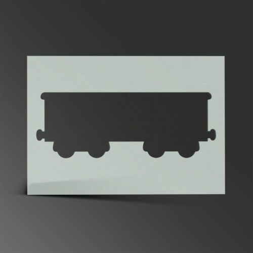 Train Stencil Mylar Sheet Painting Wall Art Kid Bedroom 190 Micron